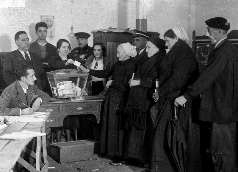 dones votant